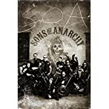 SONS OF ANARCHY Vintage Artistica di Stampa (60,96 x 91,44 cm)