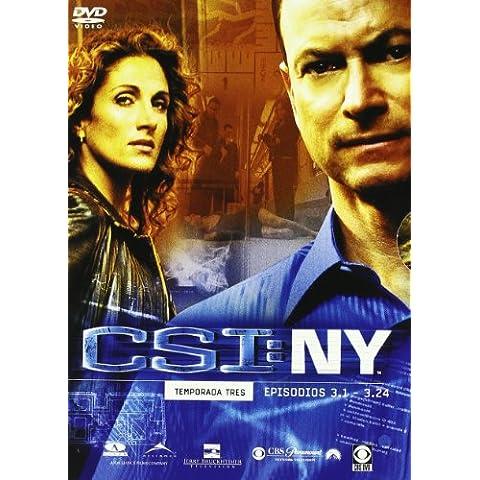 C.S.I.: NY Tercera Temporada Completa