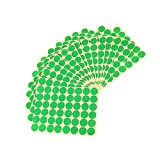 #4: Imported 720Pcs 25mm Dots Sticker Round Circle Blank Labels Self Adhesive- Green