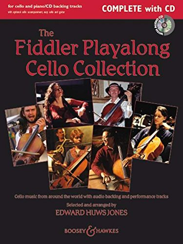Fiddler Playalong Collection  Violoncelle +CD: Cello Music from Around the World