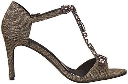 Kenneth Cole Reaction Pin Pixie Damen Textile Sandale Metalc/Mul