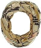 CODELLO Damen Schal 72073711, Beige (Camel 14), One size (Herstellergröße: 2x80x70 cm)