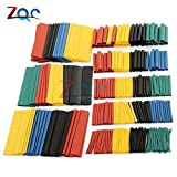 #2: Fashion Shopperrz 1set 328Pcs Polyolefin Car Electrical Cable Tube Kits