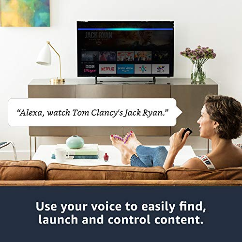 Fire TV Stick 4K Ultra HD with all-new Alexa Voice Remote   Streaming Media Player