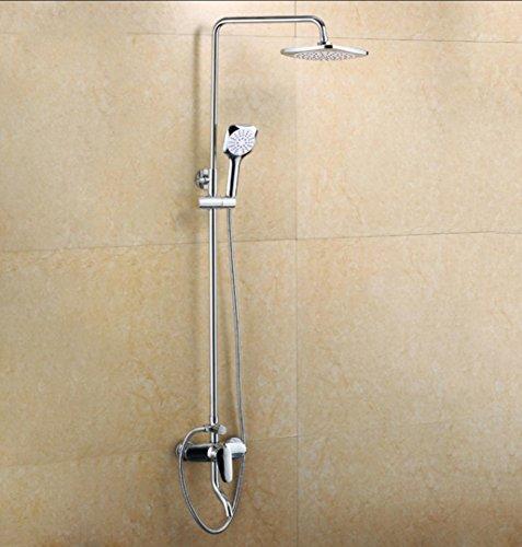 Preisvergleich Produktbild Caribou 3 - Einstellung aus massivem Messing Badezimmer Dusche von Bleifreien Multifunktionsdrucker Duschkombination, Chrom