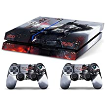 Skin PS4 HD THE WITCHER 3 - limited edition DECAL COVER ADHESIVO playstation 4 SONY BUNDLE