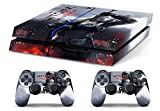 Skin PS4 HD THE WITCHER 3 - limited edition DECAL COVER Schutzhüllen Faceplates playstation 4 SONY BUNDLE