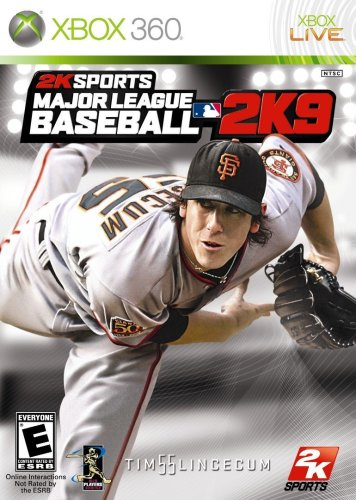Major League Baseball 2K9[Japanische - Baseball-spiele, 360 Xbox
