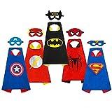 Rosso Mantello e Maschera Adulti Supereroe Costume set cinematografico Hero unisex