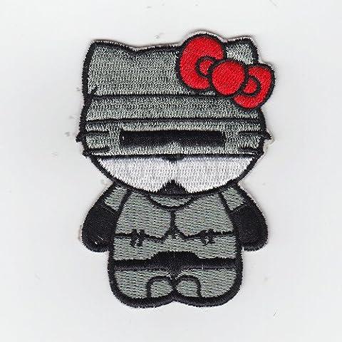 Nuovo Ciao Kitty Kitty RoboCop Military Tactics Morale ricamo B2552 Badge di patch