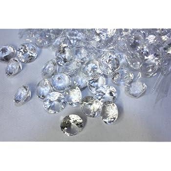 Hamburg-Trade Deko Diamanten 20mm KLAR -GROSSPACKUNG