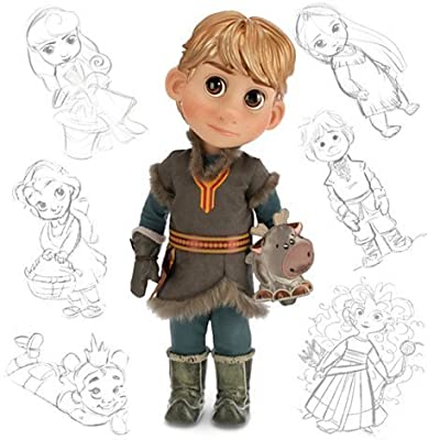 "Disney Animators' Collection Frozen Kristoff Doll with Sven 16"" por Frozen"
