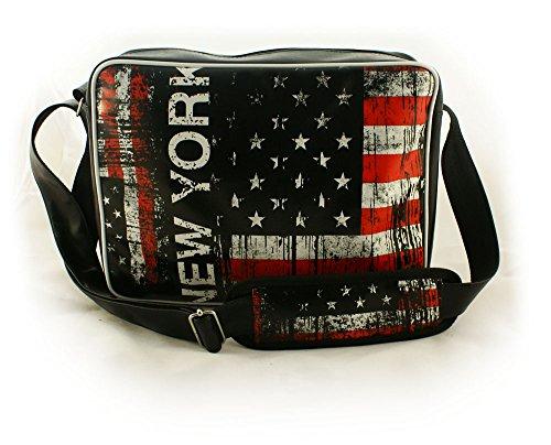 Oryginale Umhängetasche Schultasche Sporttasche Messenger Laptop Bag 20 Varianten NEW YORK (Laptop-computer-auktion)