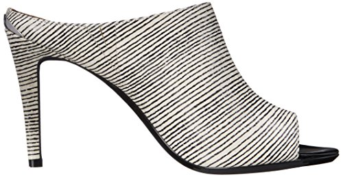 Calvin Klein Nola Dress Sandal Black-White