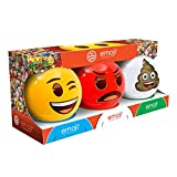 Emoji Mini 3 Dodge Ball Set – Rojo