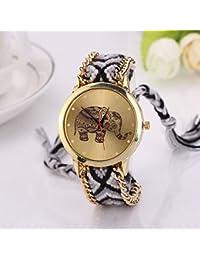 59fb2b53113d Amazon.es: relojes cuerda - Tela: Relojes