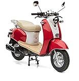 Nova Motors Retro Star ie 50 rot-weiß Euro 4 - 45km/h Mokick - fahrbereite Lieferung inklusive