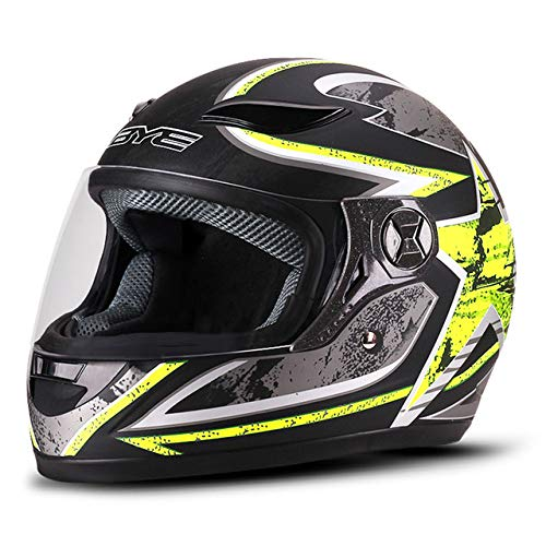 Berrd Casque de Moto Complet pour Homme Casque Respirant Confort Confort équitation Casque de Moto Casque Moto HF-121-02