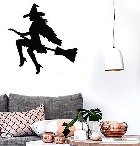 wandaufkleber baum baby Hexe-Halloween-Magie für Kindergarten-Baby