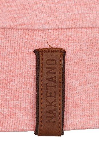 Naketano Female Sweatshirt Krokettenhorst VII Sugar Pink Melange