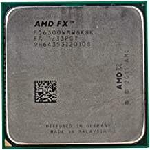 AMD FX 6300 3.5GHz 1MB L2 - Procesador (AMD FX, 3,5 GHz, Socket AM3+, 32 nm, FX-6300, 32-bit, 64 bits)