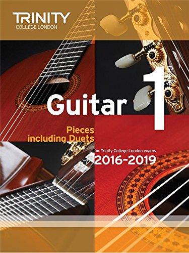 Trinity College London: Guitar Exam Pieces - Grade 1 (2016-2019). For Chitarra