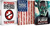 The Purge Collection 1/2/3 2016 UK Exclusive Limited Edition Steelbook Limited to 2000 Copies Blu-ray Region free