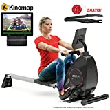 Sportstech Rowing Machine By The Premium Manufacturer Incl. Smartphone APP, Pulse Belt Folding
