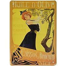 Éditions Clouet 29093 Tableau d'Affichage Huile d'Olive Caisson et Brocard