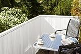 Noor 15510X03MWE PVC-Sichtschutzmatte, 300 x 100 cm