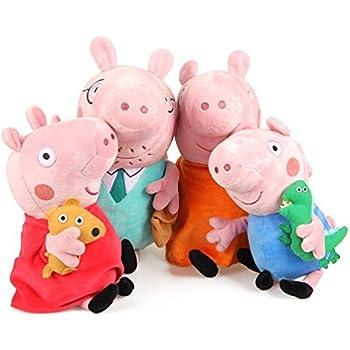 Joy Toy 345151 17 cm Peppa Pig en peluche - Modèle aléatoire