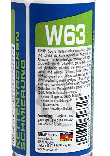 TUNAP Sports Bikeline | Trockenschmierung W63, 100 ml | ABVERKAUFSPREIS wg Marken-Relaunch - 3
