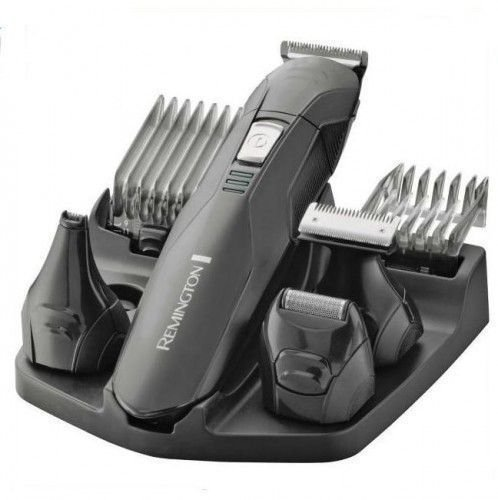 Remington Edge PG6030 - Set Recortador de Barba, 6 Accesorios y Barbero, Inalámbrico, Lavable, Apto...