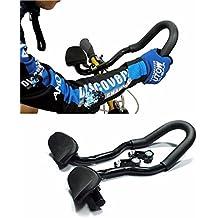 Takestop® Manillar Bicicleta Triatlón Handlebar para posición aereodinamica larga distancia de running Viaje Relax Riposo Relajación Mountain Bike Bicicleta Ciclismo