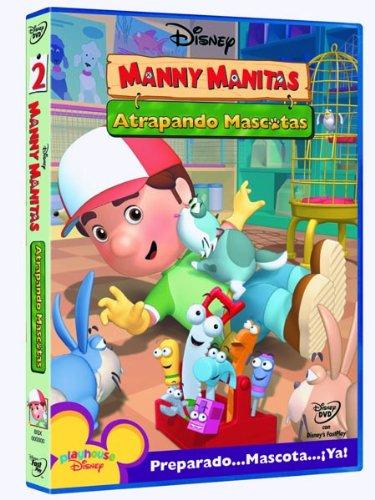 Manny Manitas: Atrapando mascotas [DVD]
