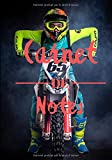 Carnet de notes: Cahier de notes pour fans de motocross et de moto | 7*10 pouces - 100 pages | Cahier de notes pour adolescents