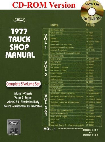 1977 Ford Truck Shop Manual