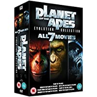 Rise Of The Planet Of The Apes 1 To 7 Boxset
