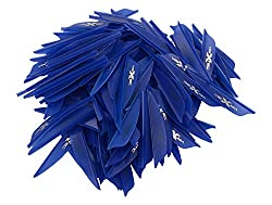 Vanes / Fletches Pack of 100 Pieces (Blue)