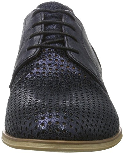 Tamaris 23209, Oxfords Femme Bleu (NAVY/METALLIC 864)