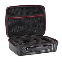 Goolsky Outdoor Portable Shockproof Waterproof Carbon Fiber Handbag for DJI Spark Drone