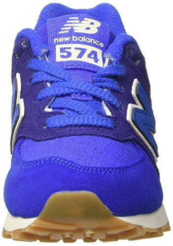New Balance Unisex-Kinder Kl574esp M Sneakers Blau (Blue)