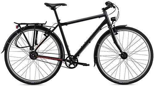 Breezer Beltway 8+ V Urban/Trekking Bike 2016 (Schwarz/Rot, 60)