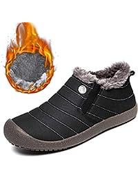 SITAILE Herren Damen Winterschuhe Schneestiefel Outdoor Knöchelhoch Boots Stiefel  Schuhe für Winter 3995a643cc