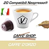 Capsule Compatibili Nespresso, Capsule Miscela 'Orzo' Linea Espresso (Kit Assaggio 20 Capsule)