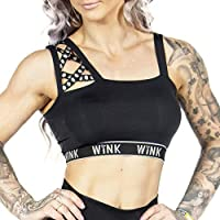 Wink Mystique Crop Top (Small, Black)