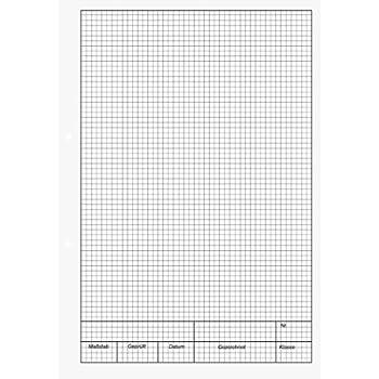 7054600  neu Ursus 2 x Millimeterblock Milimeterpapier A4 25 Blatt H3