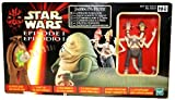 "Jabba the Hutt with 2-Headed Announcer - Star Wars Episode I ""The Phantom Menace"" Collection 1999 von Hasbro"