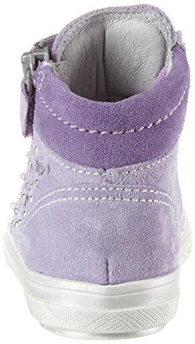 Richter Kinderschuhe Ilva (Blinki), Sneakers basses fille Violett (thistle/lavender)