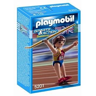 PLAYMOBIL 626727 – Olímpico Lanzamiento Jabalina